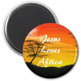 African Sun Magnet