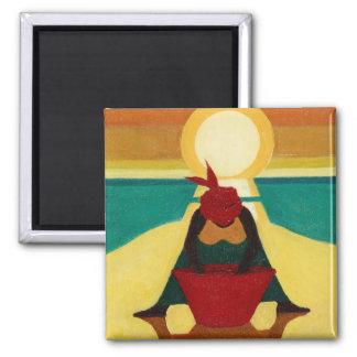 African Sunset 2009 Magnet