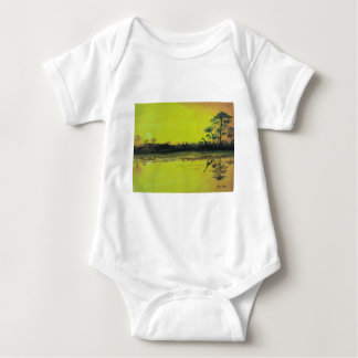 African Sunset Baby Bodysuit