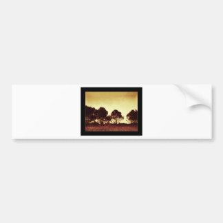 African Sunset Bumper Sticker
