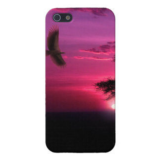 African Sunset Cover For iPhone SE/5/5s