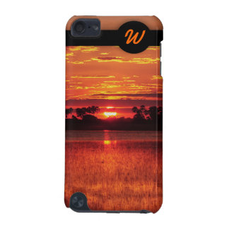 African sunset iPod touch 5G cover