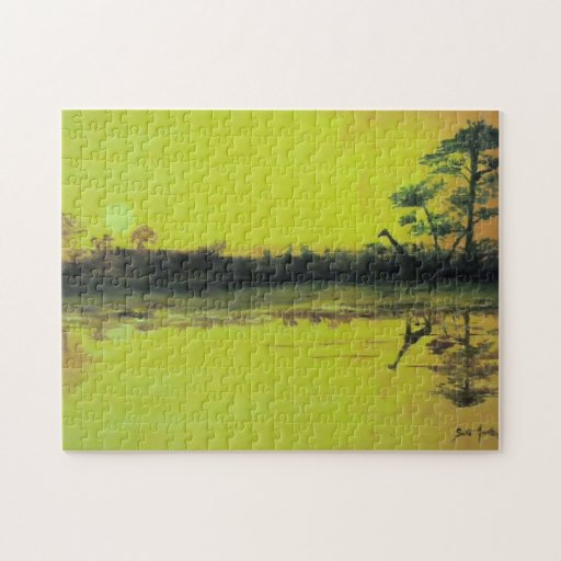 African Sunset Jigsaw Puzzles