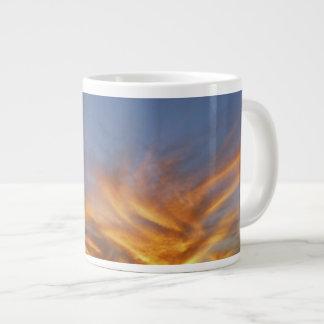 AFRICAN SUNSET SKY 20 OZ LARGE CERAMIC COFFEE MUG
