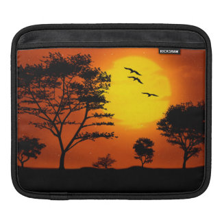 African Sunset Sleeve For iPads