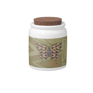 African Swallowtail Candy Jar