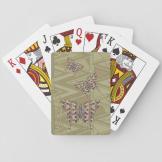 African Swallowtail Classic Playing Cards