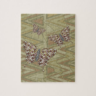 African Swallowtail Puzzle