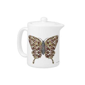 African Swallowtail Tea Pot