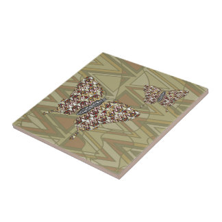 African Swallowtail Tile