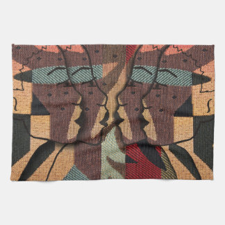 African Tapestry Hand Towel