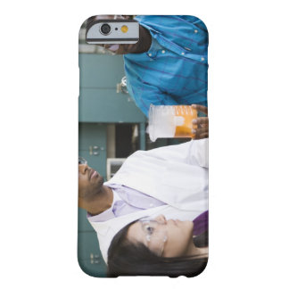 African teacher and students watching experiment barely there iPhone 6 case