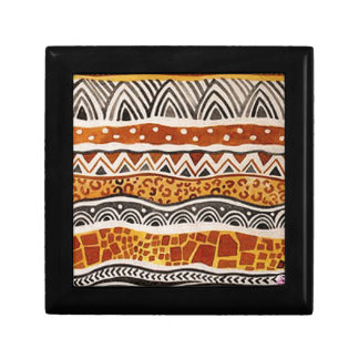 AFRICAN TEXTILE GIFT BOX