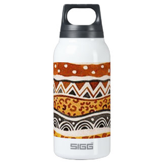 AFRICAN TEXTILE INSULATED WATER BOTTLE