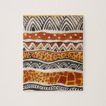 AFRICAN TEXTILE JIGSAW PUZZLES