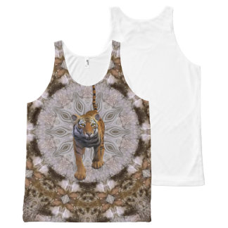 African Tiger. All-Over-Print Tank Top
