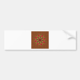 African Traditional Design Bumper Sticker
