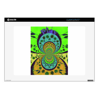 African Traditional Hakuna Matata Colors.png Decals For Laptops