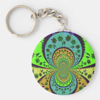 African Traditional Hakuna Matata Colors.png Keychain