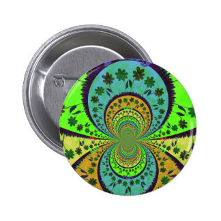 African Traditional Hakuna Matata Colors.png Pinback Button