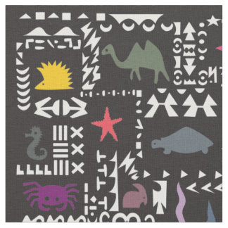 African Traditional Patterns Fabric