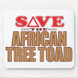 African Tree Toad Save Mouse Pad