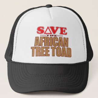 African Tree Toad Save Trucker Hat
