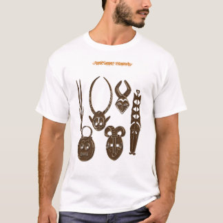 AFRICAN TRIBAL ART T-shirts & Tops