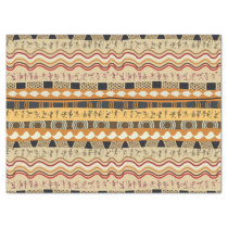 AFRICAN TRIBAL ART TISSUE PAPER
