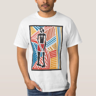 African Tribal Art  Woodcarving T-Shirt