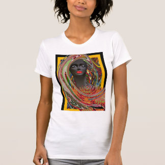 African Tribal Bride T-Shirt