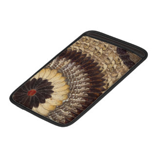 African Tribal Butterfly Wings Art Deco Pattern Sleeve For MacBook Air