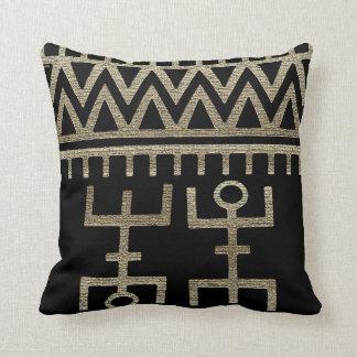 African Tribal Dance Pillow