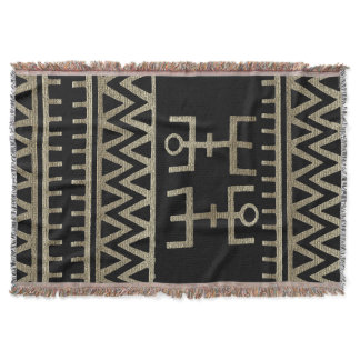 African Tribal Dance Throw