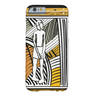 African tribal farmer, gold barely there iPhone 6 case