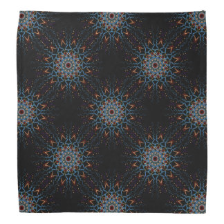 African Tribal Mandala Tiled Pattern Bandana