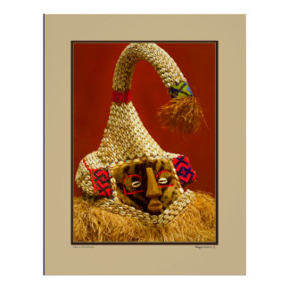 African Tribal Mask - Smithsonian Institute Poster
