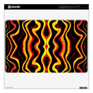 "African tribal motif Zazzle Skin 11"" MacBook Air Skin"