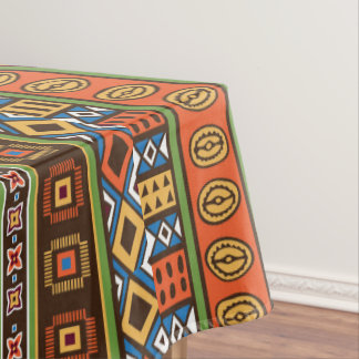 Superior African Tribal Pattern Dining Tablecloth