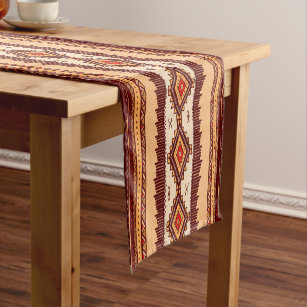 Charmant African Tribal Pattern Table Runner