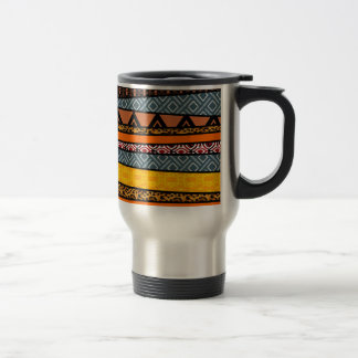 African Tribal Patterns Travel Mug