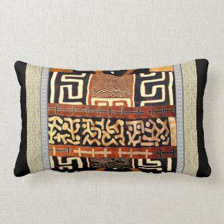 African Tribal Sophistication Lumbar Pillow