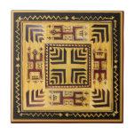African Tribal Spirits Ceramic Tile