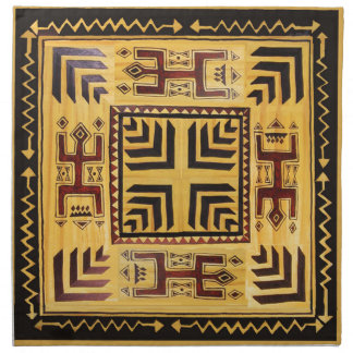 African Tribal Spirits Cloth Napkin