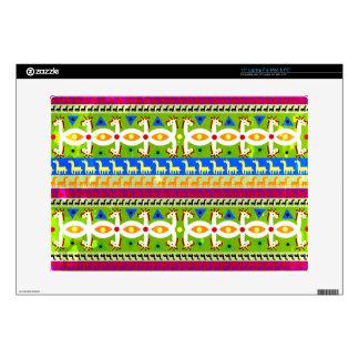 African Unicorn pattern Laptop Skin