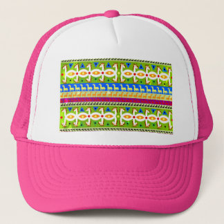 African Unicorn pattern Trucker Hat