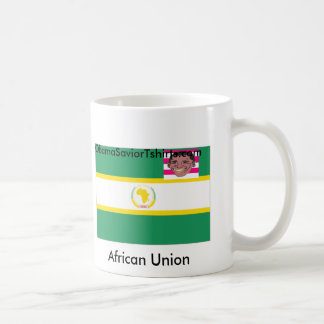African Union Obama United Classic White Coffee Mug