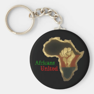 African United Keychains