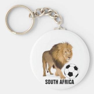 African Urban Collection Basic Round Button Keychain
