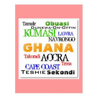 African_Urban Custom Postcard